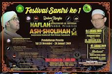 Pengumuman Jadwal Acara Lomba dan Haflah Tasyakur Pondok Pesantren As Sholihah ke 14