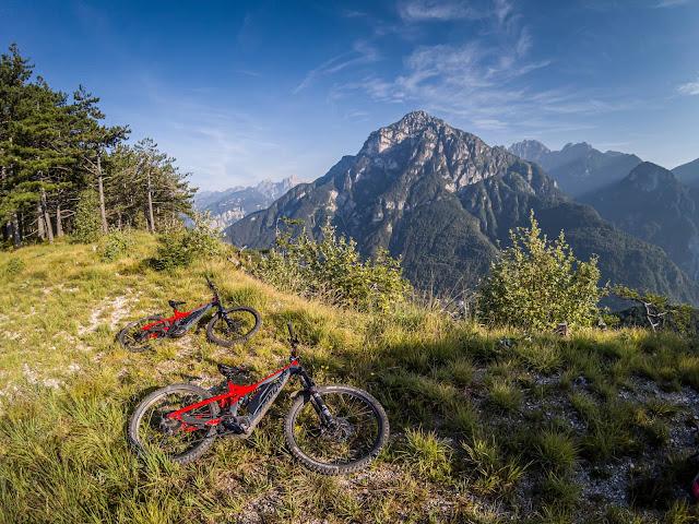 Mountainbike Tour: Monte Staulizze und Monte Posar/Friaul