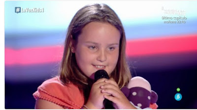 Camila: Rolling in the Deep |  Audiciones a ciegas La Voz Kids
