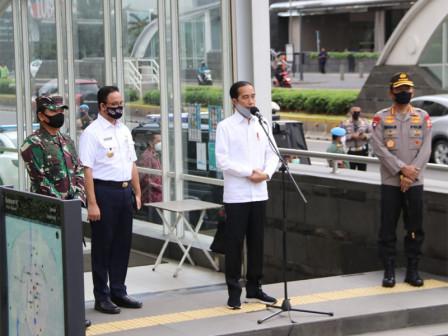 Anies Tegaskan Kedisplinan Warga Jakarta Jadi Penentu Transisi New Normal