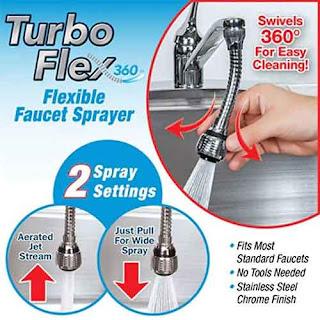 Turbo flexe Faucet Sprayer_ Amazon.in