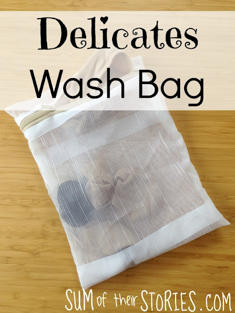 Make your own Delicates wash bag