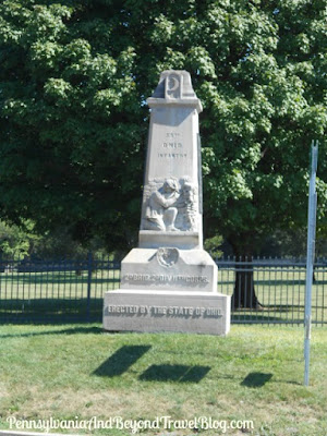 Gettysburg National Cemetery - 55th Ohio Monument