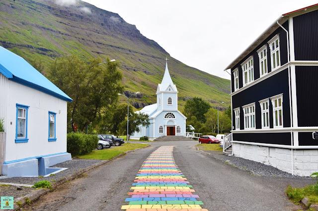 Seydisfjördur, Islandia