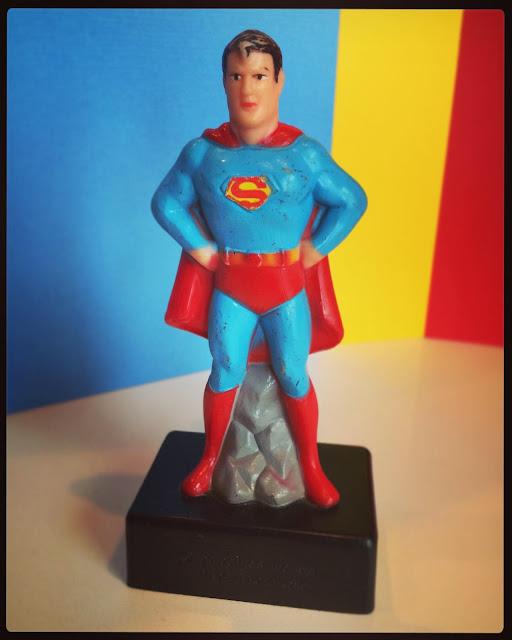 Superman pencil sharpener