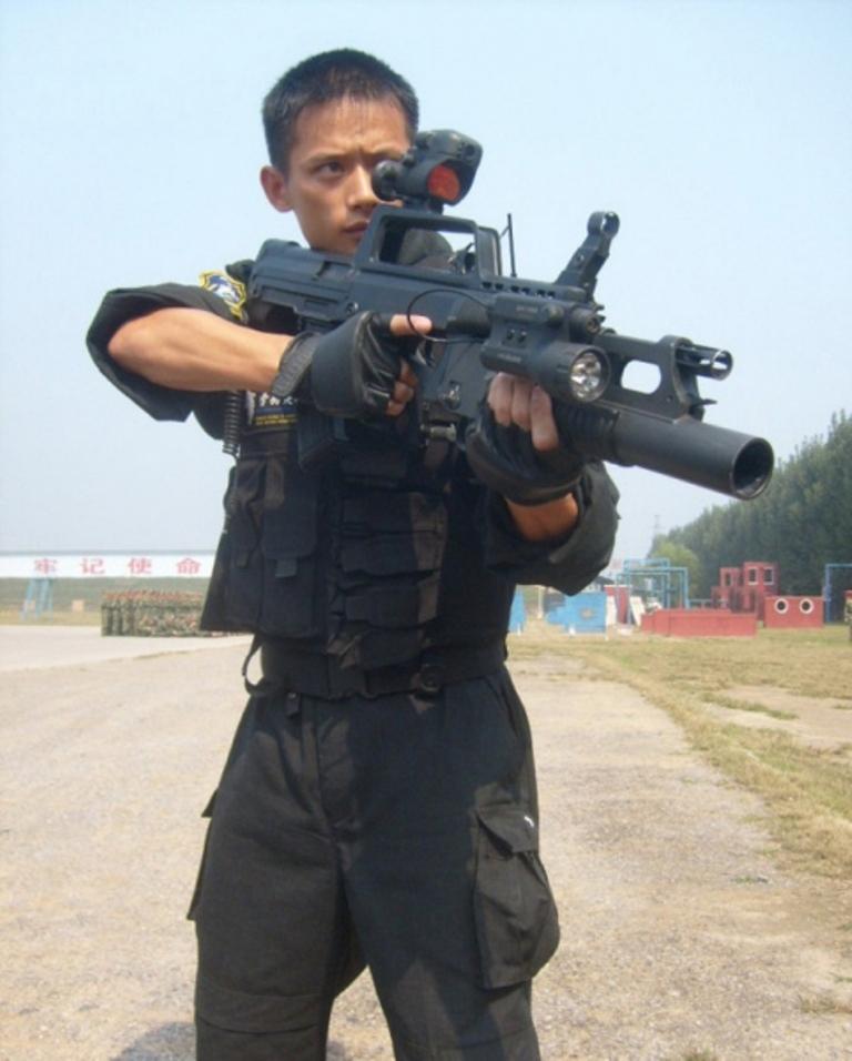 China Police: General Knowledge: QBZ-95 Rifle