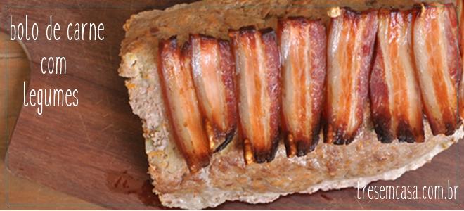 bolo de carne saudável receita