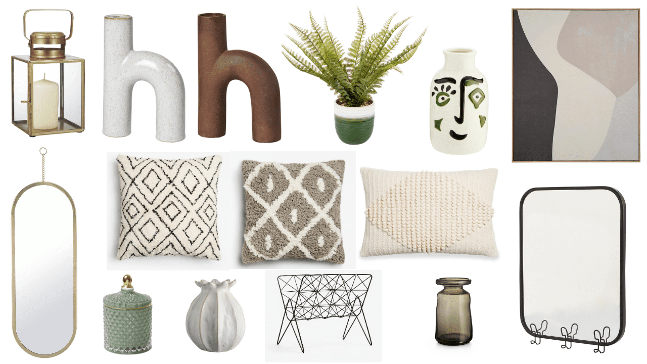 Autumn Winter 2020 home decor budget finds - style your home with seasonal candles, cushions and accessories. Fall home decor ideas and inspiration