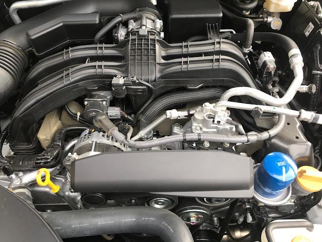 Engine in 2020 Subaru Legacy Limited