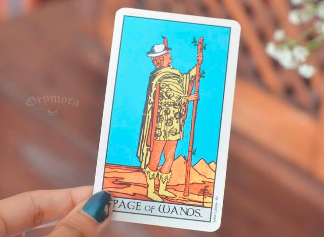 Saiba o significado da Carta Pajem / Valete de Paus no Tarot do amor, dinheiro e trabalho, na saúde, como obstáculo ou invertida e como conselho.