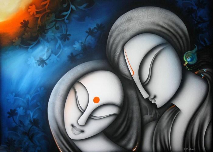 Индийский художник. Prakash K
