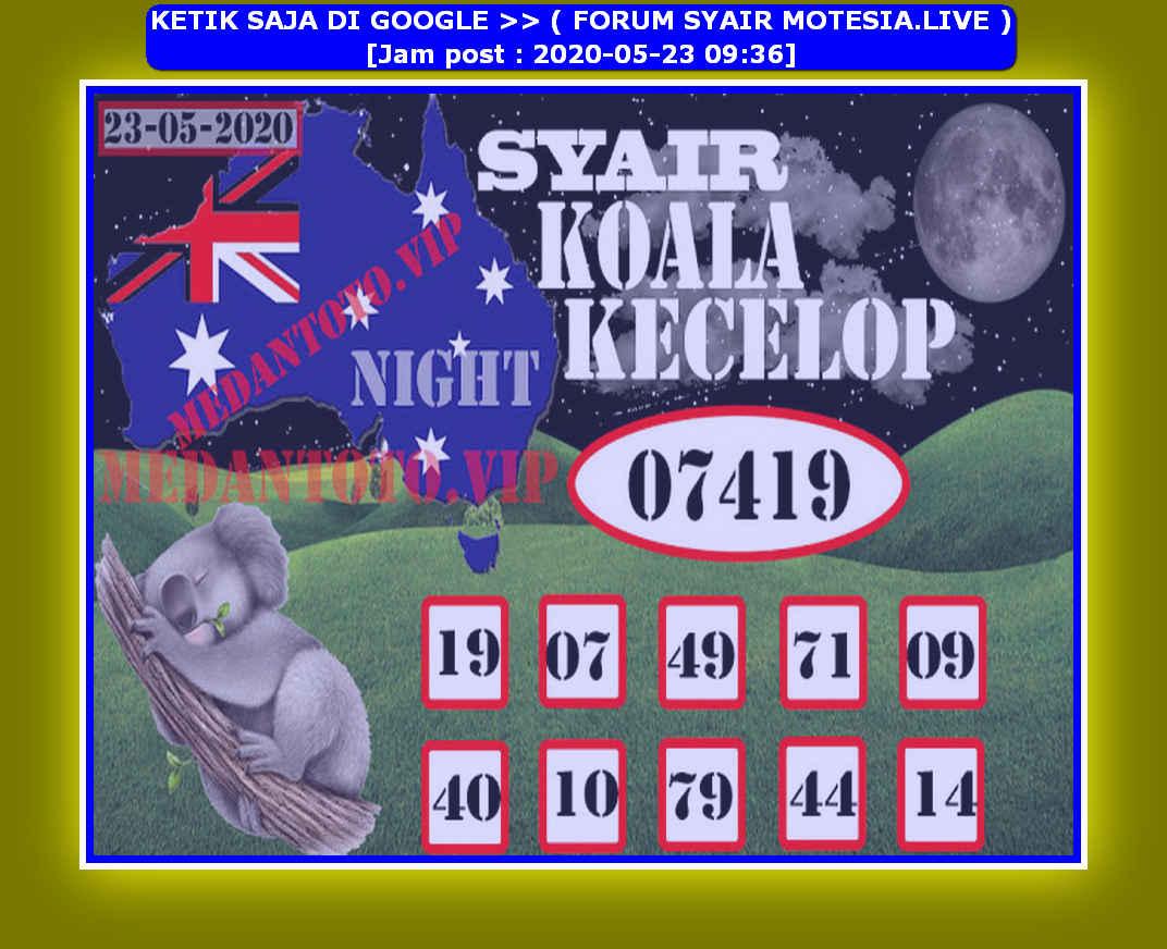 Kode syair Sydney Sabtu 23 Mei 2020 160