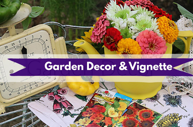 diy garden decor and garden label