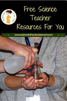 A collection of Free Science Teacher Resources