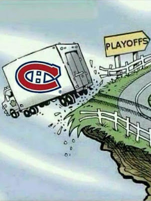 Does not look good for the Montreal Canadians