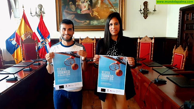 """El Ayuntamiento de Santa Cruz de La Palma organiza la XLVIII edición del torneo de baloncesto """"José Luis Rodríguez Acosta"""""""
