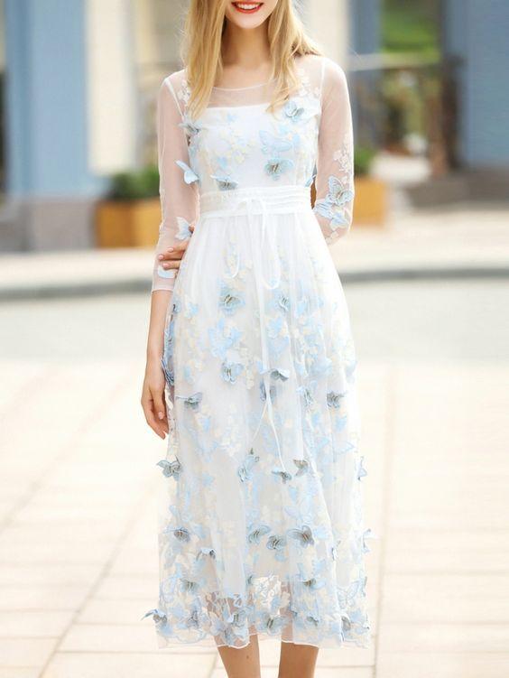 EMBELLISHED DRESSES FASHION TRENDS