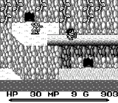 Mystic Quest - Pasarela madera