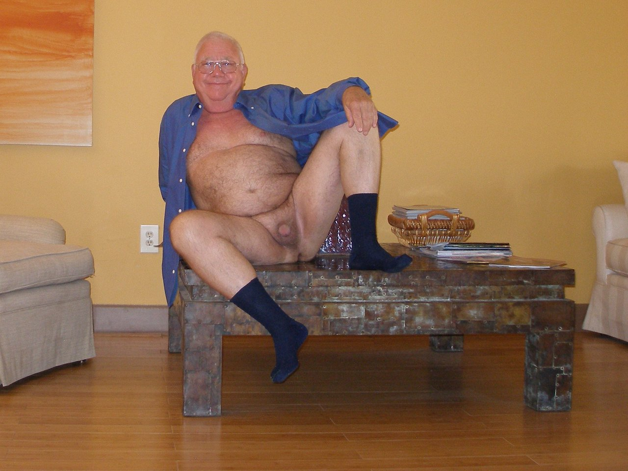 sexy old naked men - hairy older guys