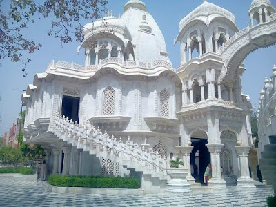 iscon temple of Mathura