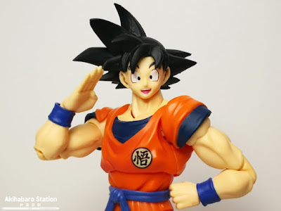 S.H.Figuarts Son Goku - A Saiyan Raised on Earth - de Dragon Ball Z - Tamashii Nations
