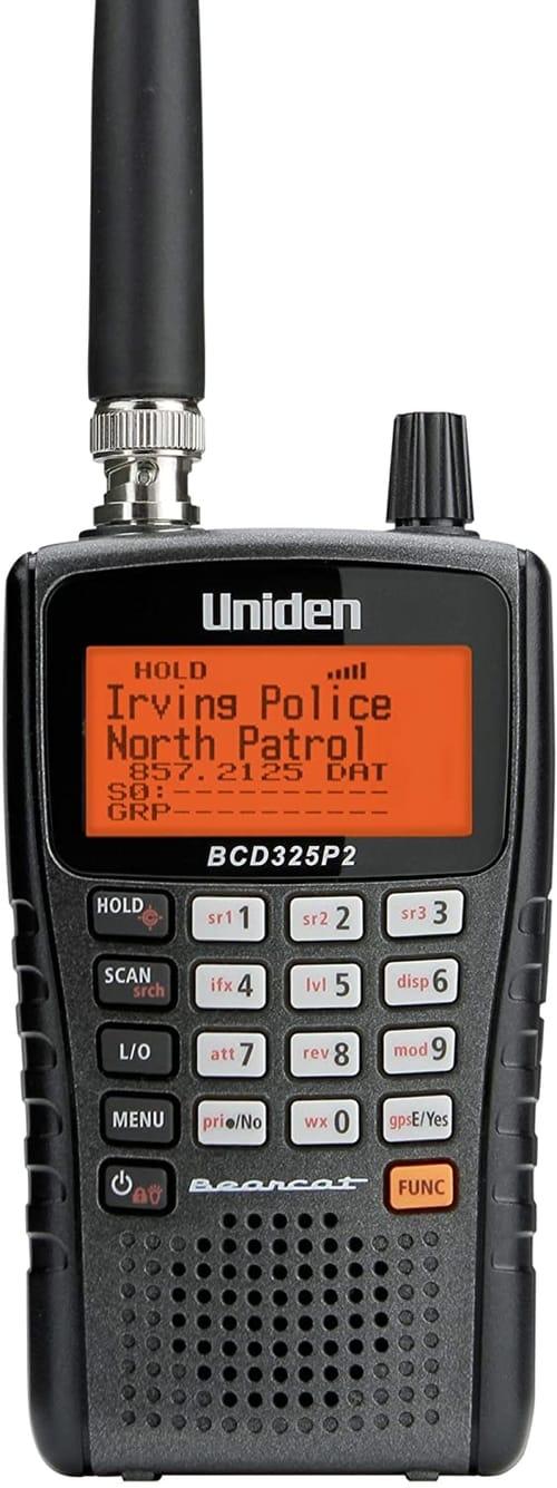Uniden BCD325P2 Handheld TrunkTracker V Scanner