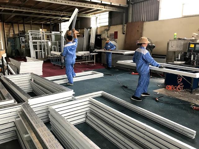 chứng chỉ sản xuất cửa nhựa lõi thép