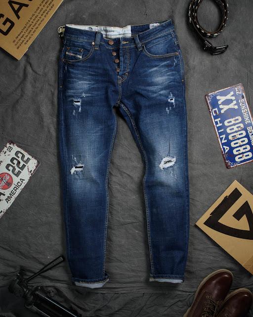 quần jean nam rách là gì? - Những loại cạp quần phổ biến