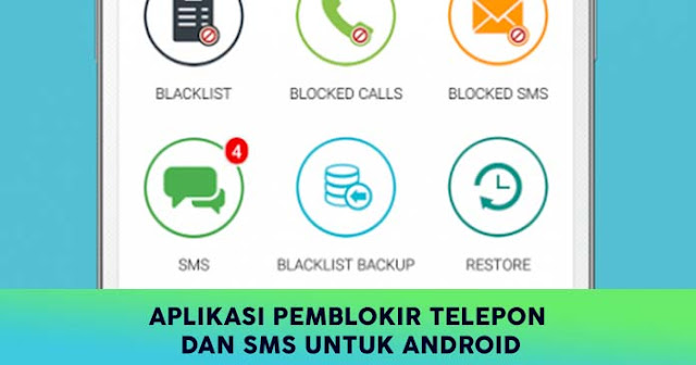 Pemblokir Telepon dan SMS Android
