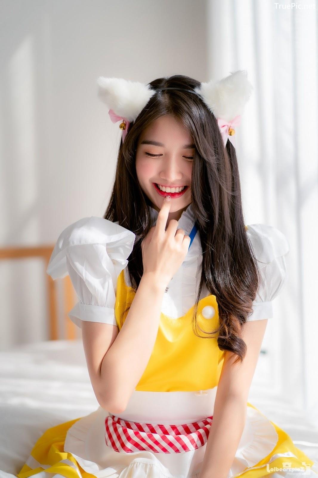Image Thailand Model - Yatawee Limsiripothong - Cute Maid - TruePic.net - Picture-4