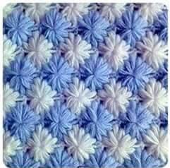 Patrón #793: Punto Tupido a Crochet