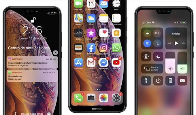 Convierte Tu Android Estilo iPhone 2019