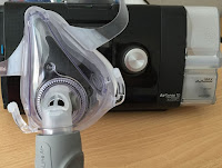 ResMed CPAP Machine with full-face mask
