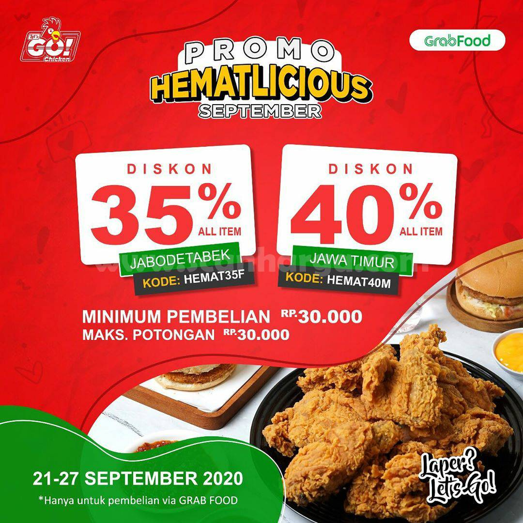 Promo Let's Go Chicken Paket HematLicious Periode 21 - 27 September 2020