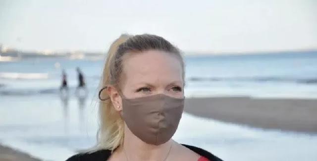 Masker Unik Berbahan Daur Ulang Sampah Laut