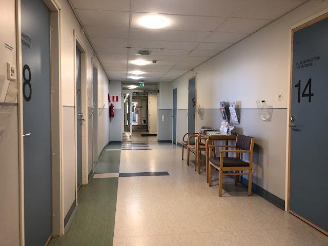 Laakson sairaala käytävä gastroentrologia