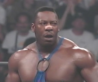 WCW Slamboree 1996 Review - Booker T teamed with Road Warrior Hawk to face Animal and Lex Luger