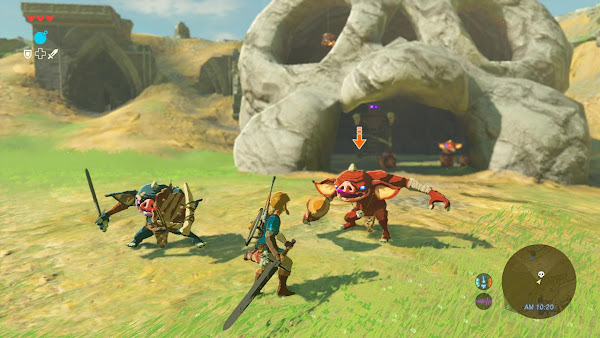 The Legend of Zelda: Breath of The Wild (USA+DLC) Wii U ROM Screenshots #4