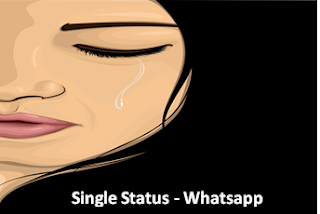 single status for Whatsapp, facebook