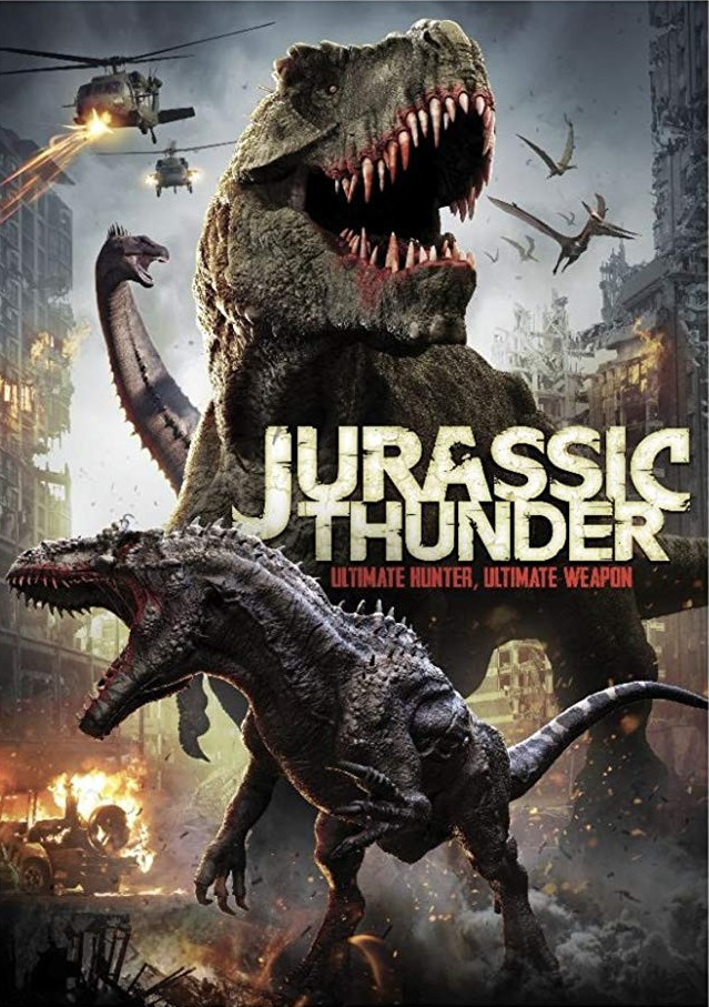 Jurassic Thunder 2020 English 720p HDRip 800MB ESubs