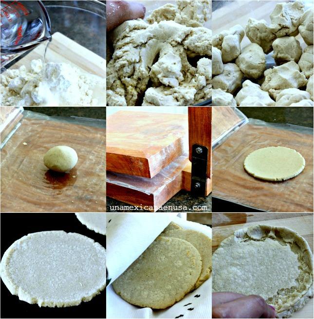 Cómo hacer sopes paso a paso by www.unamexicanaenusa.com