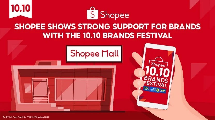 Shopee Strengthens Supports for Brands to Reach Millions of Online Customers with 10.10 Brands Festival