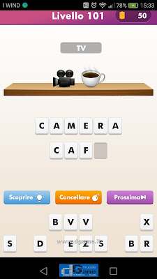 Emoji Quiz soluzione livello 101