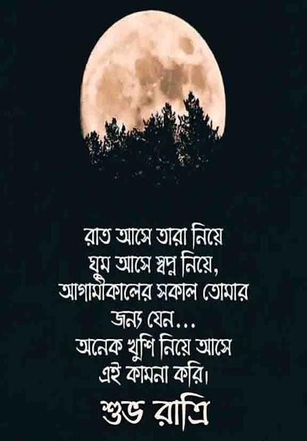 Good night in Bangla