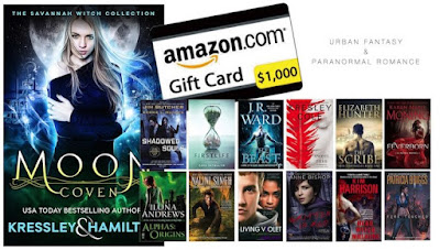 Mega Paranormal Romance and Urban Fantasy Party Giveaway