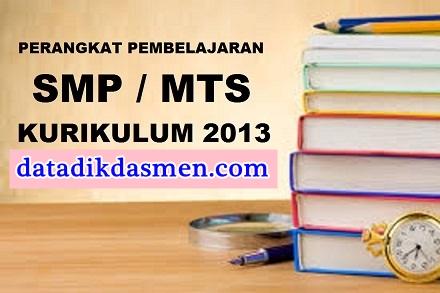 Lengkap Smp Rpp Silabus Prota Promes Pemetaan Ki Kd Jurnal Kkm Buku Guru Dan Buku Siswa Kelas 7 8 9 Smp Kurikulum 2013 Revisi 2017 Infodikdasmen