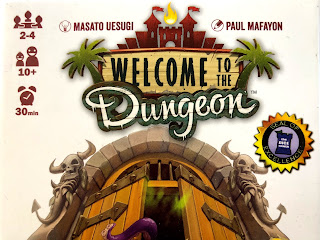 Welcome to the Dungeon title art.