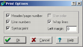 Jendela Print Option