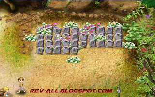 The cemetery - kuburan di virtual villagers (rev-all.blogspot.com)
