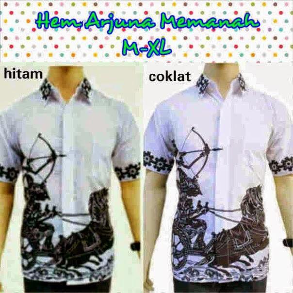 Baju Kemeja Batik Pria Modern Model Terbaru